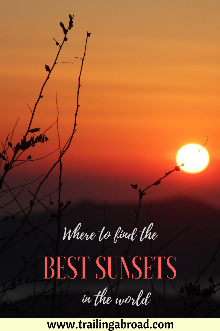 While an ordinary sunset is an oxymoron, some places in the world are worth visiting simply because of the beautiful vistas they offer every evening. Read on to get inspired and fly away to one of these gorgeous destinations to chase incredibly stunning sunsets.