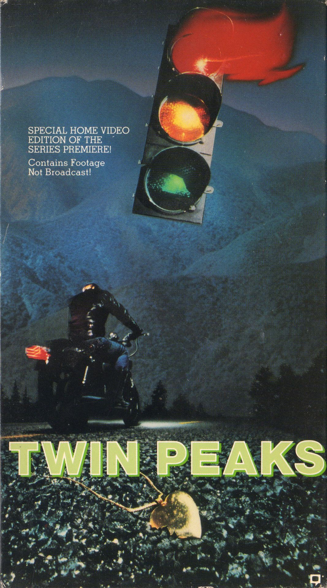 Image result for twin peaks pilot poster