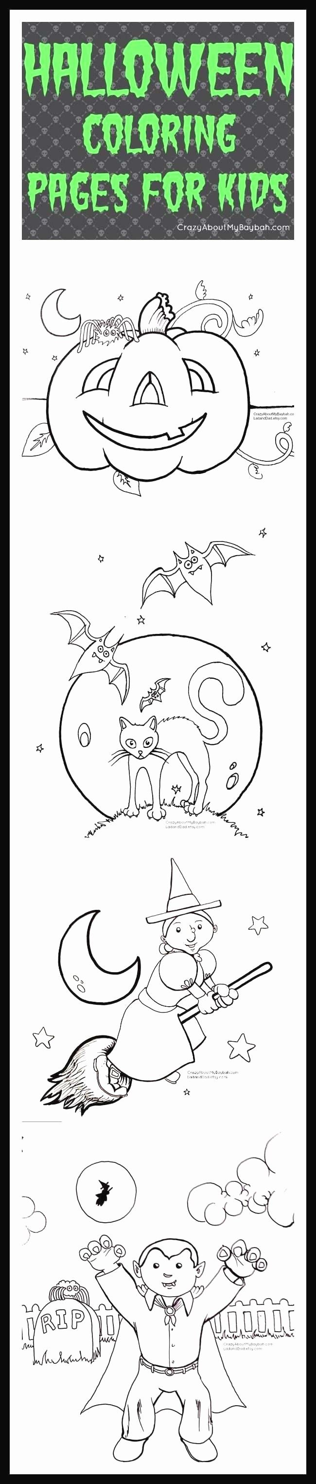 Halloween Coloring Letters Halloween Coloring Pages Printable