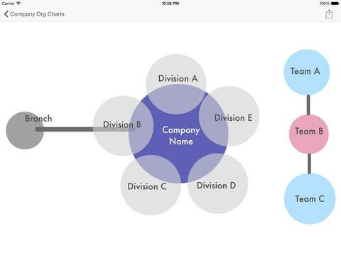 Ipad App Company Org Charts Templates For Publisher Star Hd