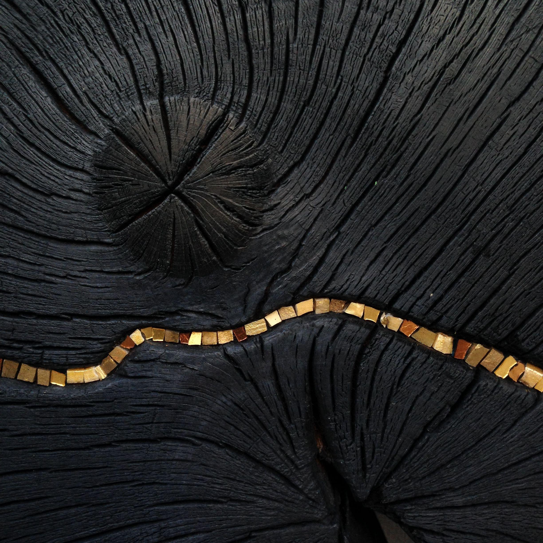 sculpture lune noire black moon d tail suzanne rippe 2016 my work mon travail sculpture. Black Bedroom Furniture Sets. Home Design Ideas
