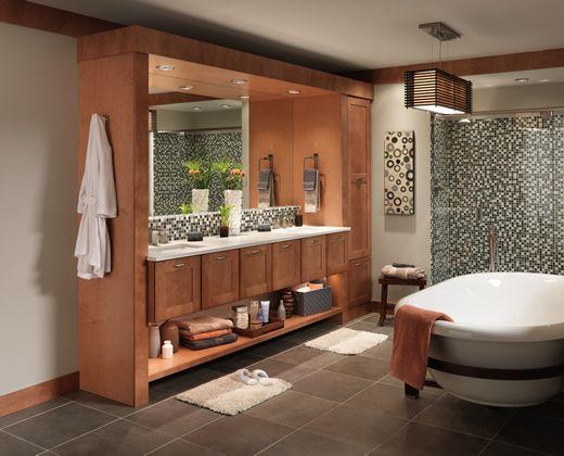 Merillat Cabinets And Vanity Storage Keep Any Bathroom Organized Inspiration Bathroom Vanities Luxury 2018