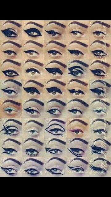 Rayas de ojos