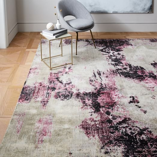 Ammon Rug 6x9 Dining Room Distressed Rug Living Room Rugs Distressed Rugs