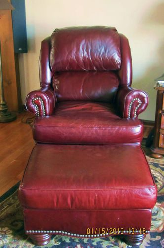 Admirable High End Norwalk Filmore Burgandy Leather Pressback Chair Pdpeps Interior Chair Design Pdpepsorg