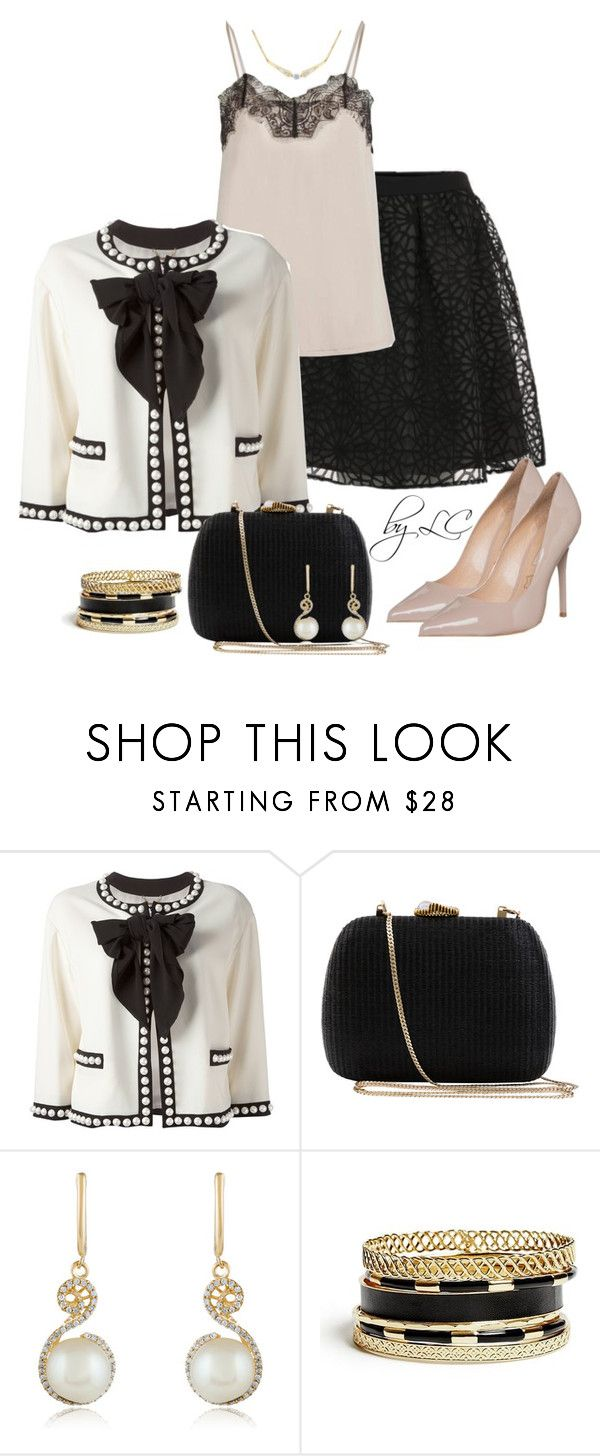 """""""Untitled #170"""" by explorer-14541556185 ❤ liked on Polyvore featuring Moschino, Serpui, Effy Jewelry and GUESS"""