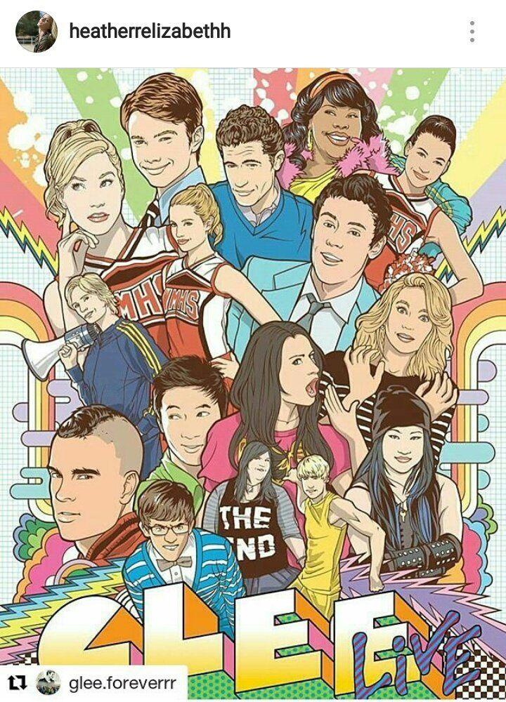 Pin de KarateMusicGirl 247 em Glee Fanart Glee, Elenco