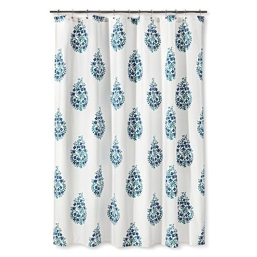 The Threshold Paisley Shower Curtain Is Perfect Amount Of Pizzazz For Your Bathroom Decor Rod And Hooks Sold Separately