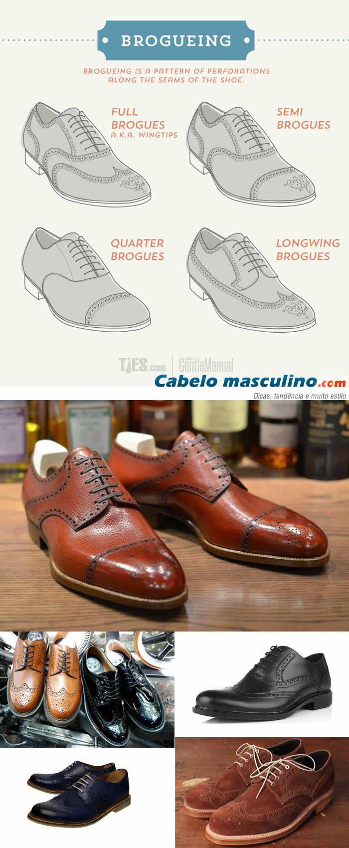 Sapatos Masculinos: O que é sapato OXFORD e o que é sapato