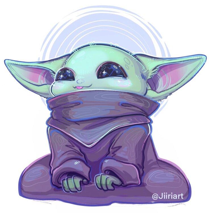 Baby Yoda Fan Art Round Up — Mr Jake Parker