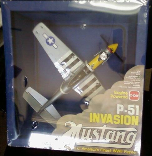 RC Plans Templates and Manuals 182212 Cox P51 Invasion Mustang – Templates for Manuals