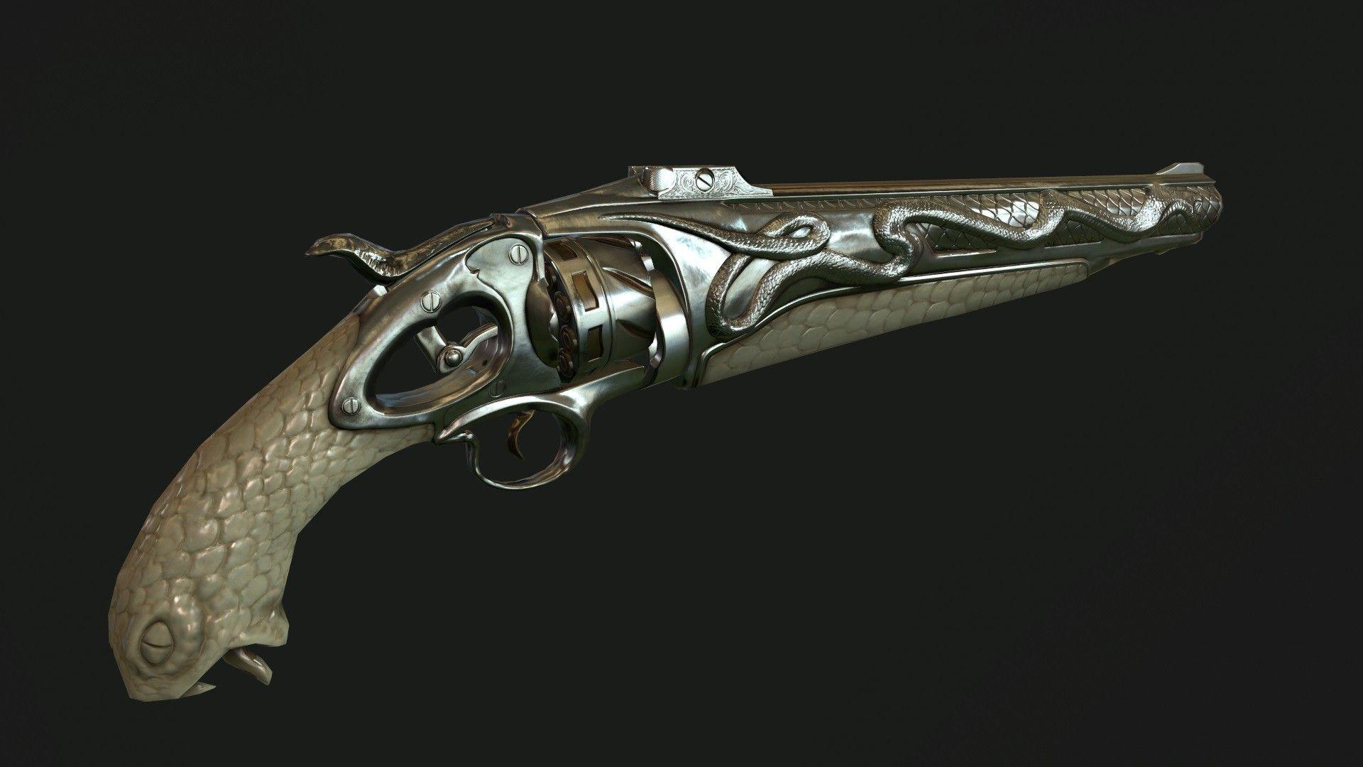 ArtStation - Revolver Snake, Nikolay Chugunov