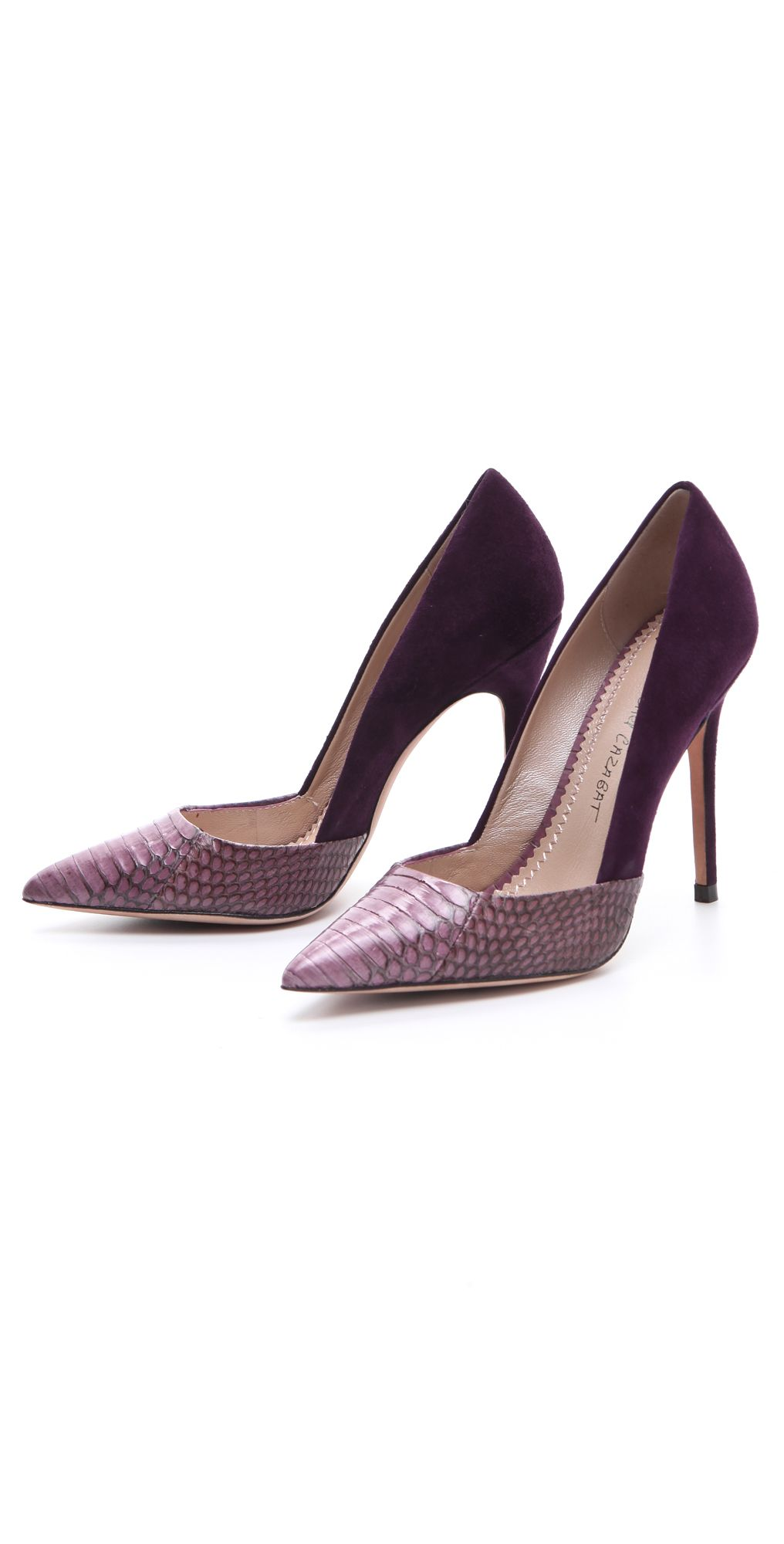 from china Jean-Michel Cazabat Python Peep-Toe Pumps looking for sale online jYAYuXUZ