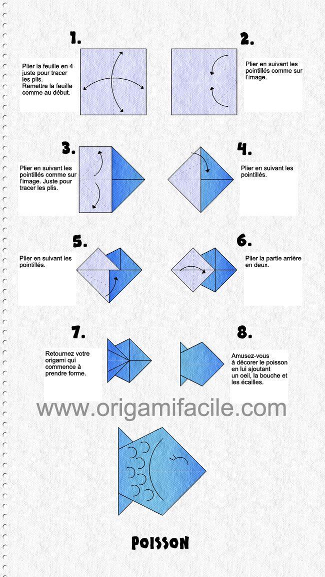 origami facile pour cp