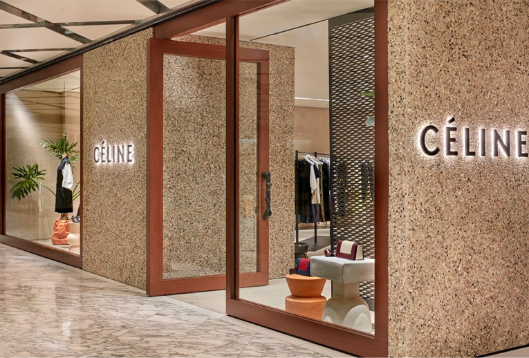 Sydney Céline Store Opening House Styles Stucco Walls