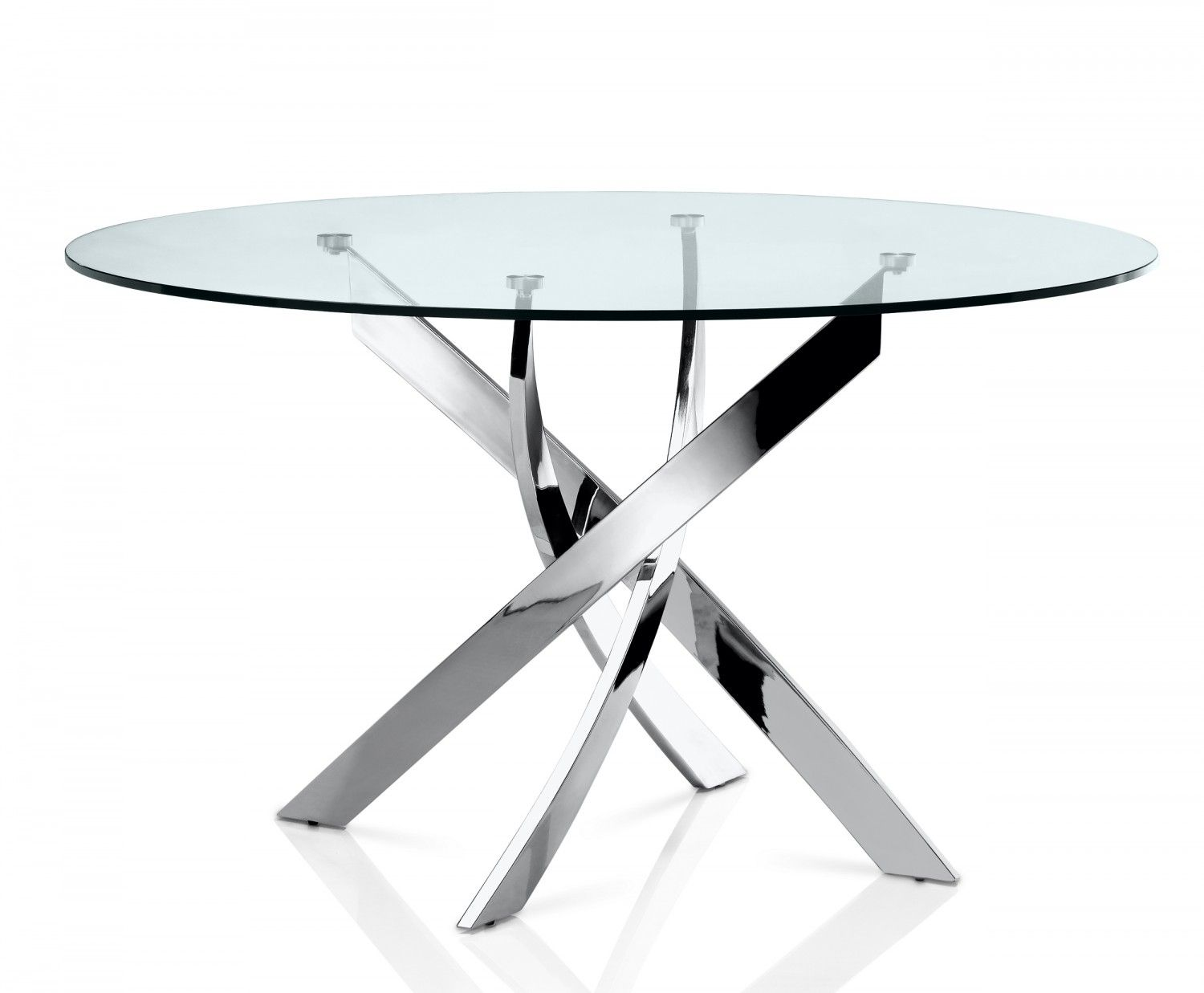 Fabiano Dining Table Creative Furniture Dining Table Round Glass Table Glass Top Dining Table