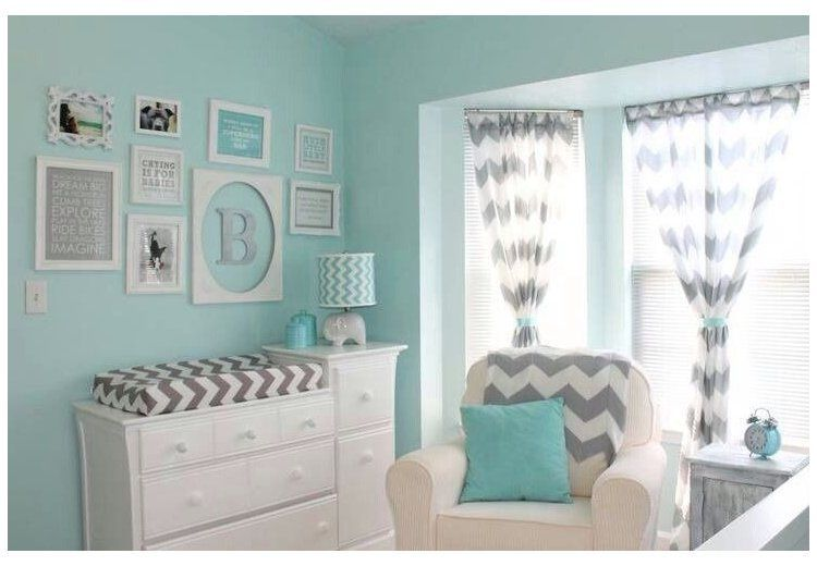 Gender neutral nursery idea! LOVE THIS we don't have to repaint the room !!! #nurseryideas#dont #gender #idea #love #neutral #nursery #nurseryideas #repaint #room
