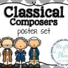 *UPDATED 9.8.2014*  This poster set is an engaging and informative way to review Classical era music. This set includes 4 styles of posters with in...