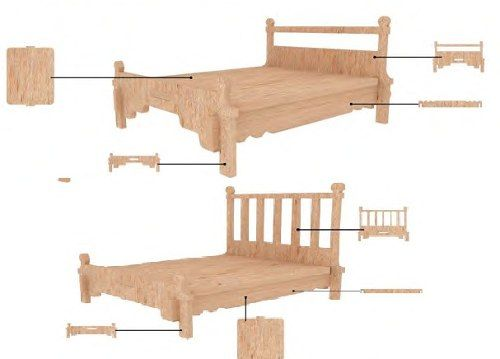 muebles-para-casa-de-muñecas-mdf-kit-de-muebles-miniatura-190-00 ...