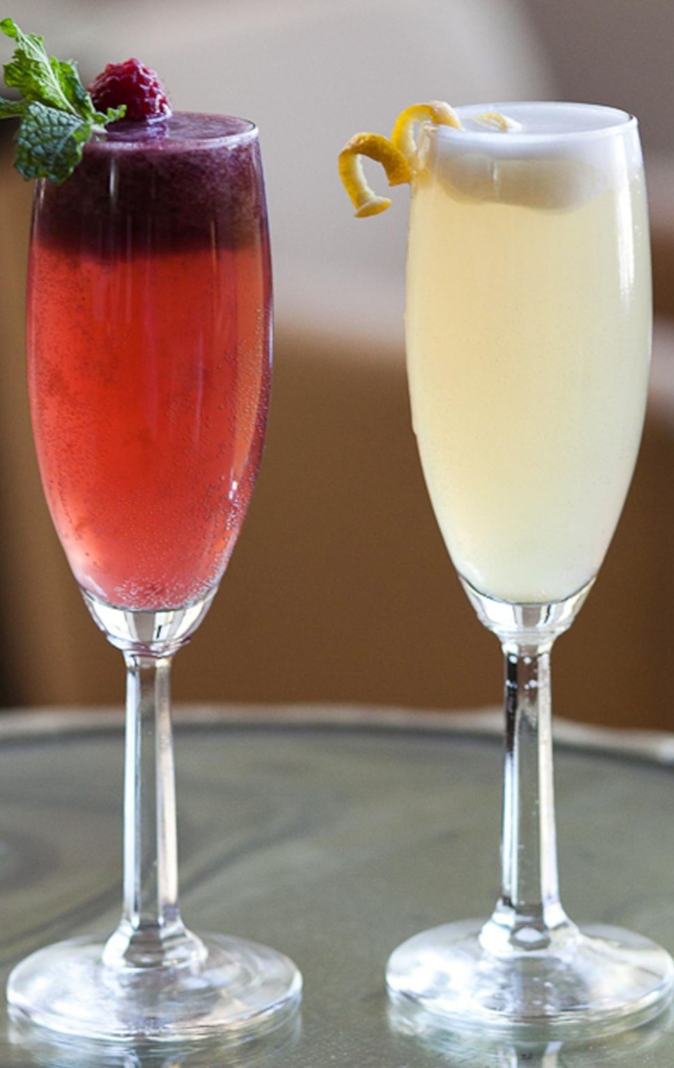 Prosecco Floats Low Calorie Cocktails Easter Cocktails Food And Drink