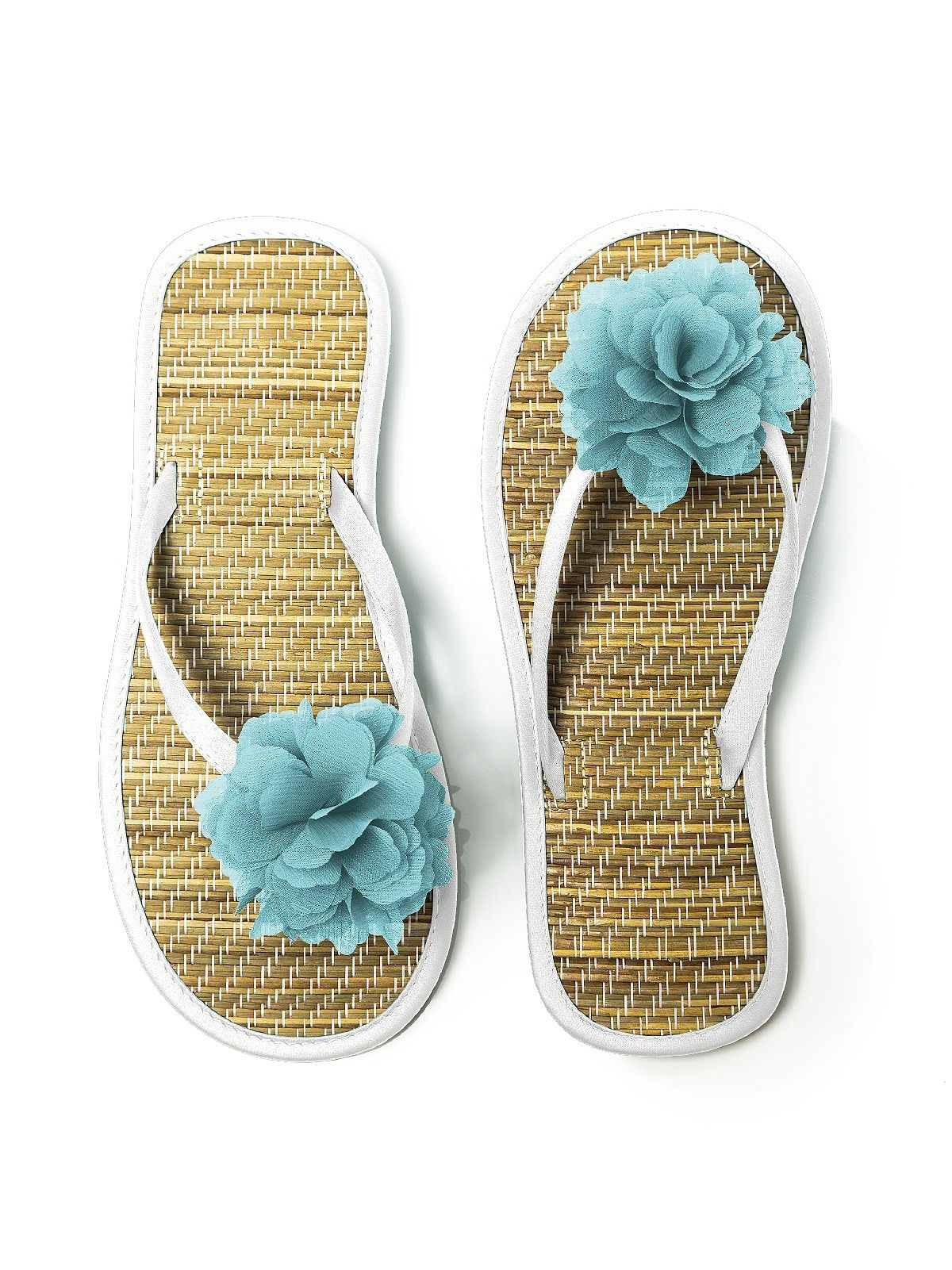 Neat Way To Dress Up Flip Flops For Special Occasions Use -1285