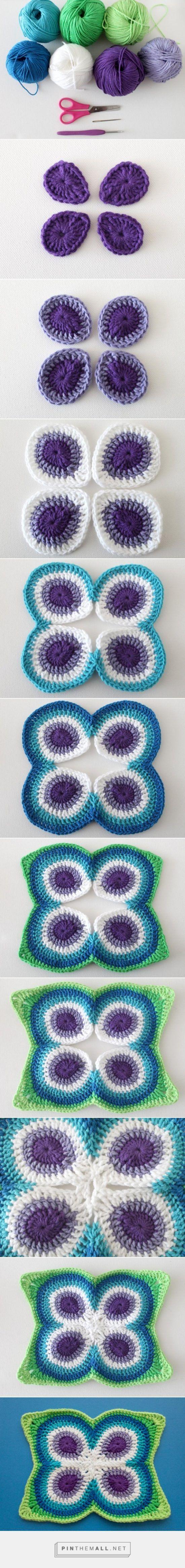 Peacock Crochet Blanket Pattern Free Video Tutorial | Croche ...