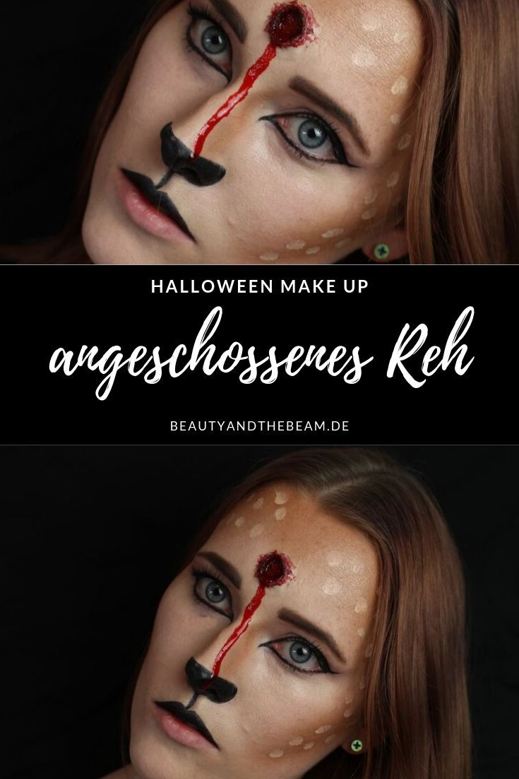 [Halloween] SFX Make Up – Reh mit Schusswunde | Beauty and the beam