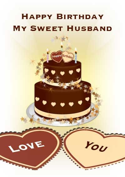 happy birthday to my husband you bill have a wonderful on free birthday cake for husband