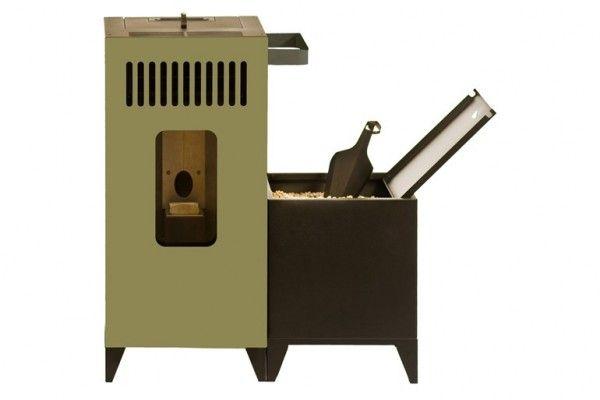 stufa-pellet-design-mia-olimpia-splendid (3) | Kitchen | Pinterest ...