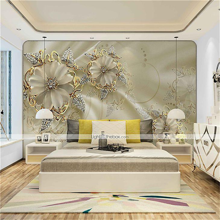 3d Design Bedroom Art Deco: [$75.59] Mural Canvas Wall Covering