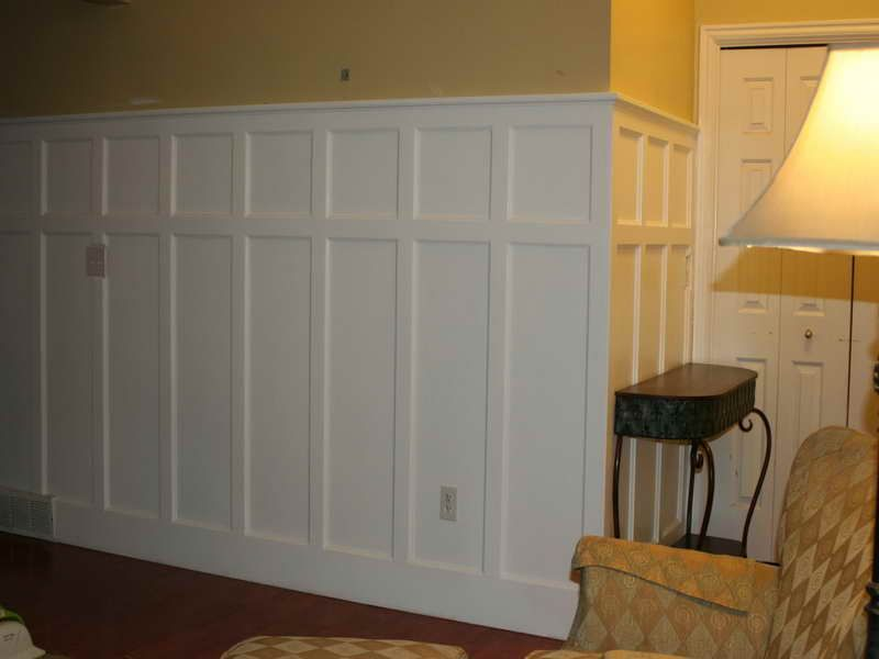 walls white wainscoting panels design types of wainscoting on different types of interior walls id=34861