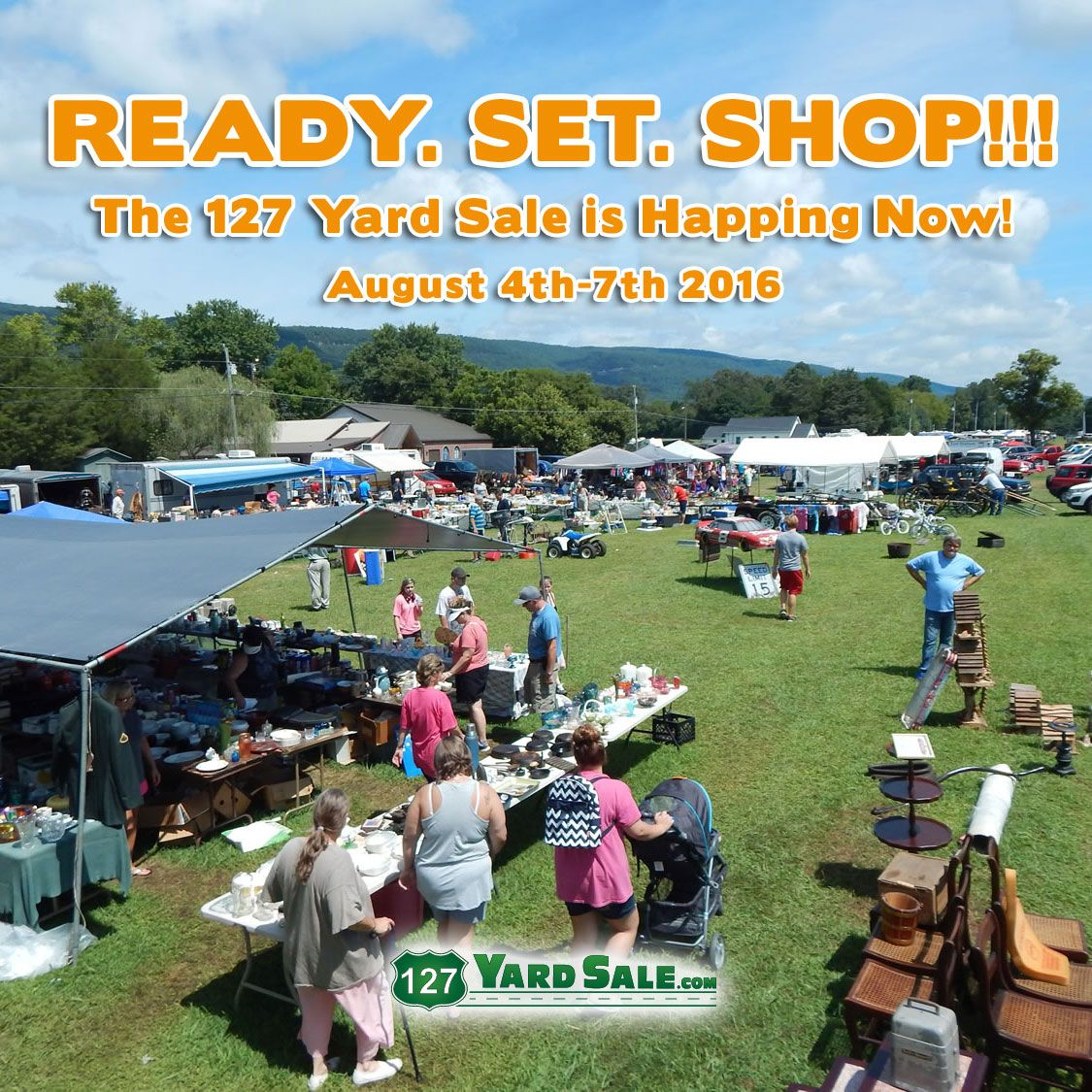 127 Yard Sale The World S Longest Yard Sale August 4th 7th