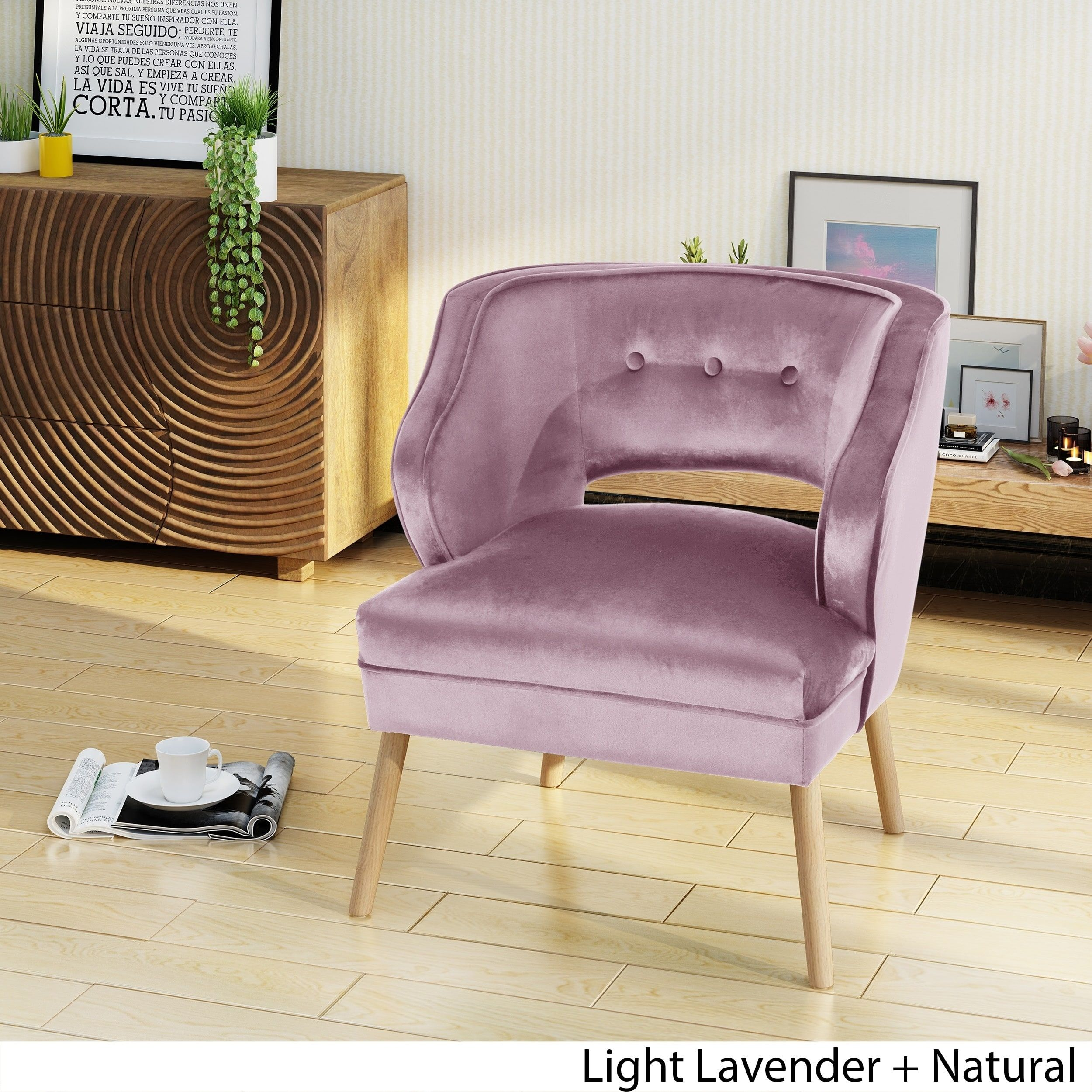 Best Mariposa Mid Century Velvet Accent Chair By Christopher 400 x 300
