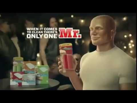 liked on youtube the 2 best and funny mr clean commercials ever