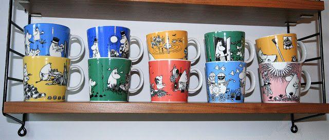pientä mutta suurta : Intohimona muumimukit / Passion for moomin mugs