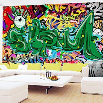 non woven photographic wallpaper 352x250 cm runa wallpapernon woven photographic wallpaper 352x250 cm runa wallpaper graffiti wall picture xxl decorative wall