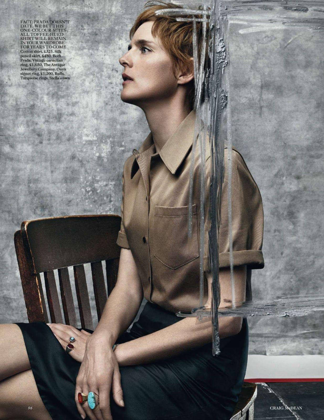 Fashion week Tennant stella uk vogue july for woman