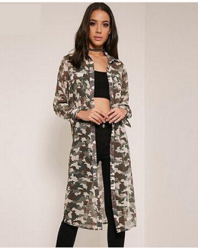 2016 fashion camouflage shirt dress for women long shirts long ...