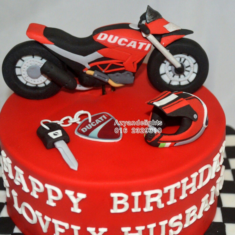 Ducati Hypermortad Bike Cakes Motorcycle Cake Ducati