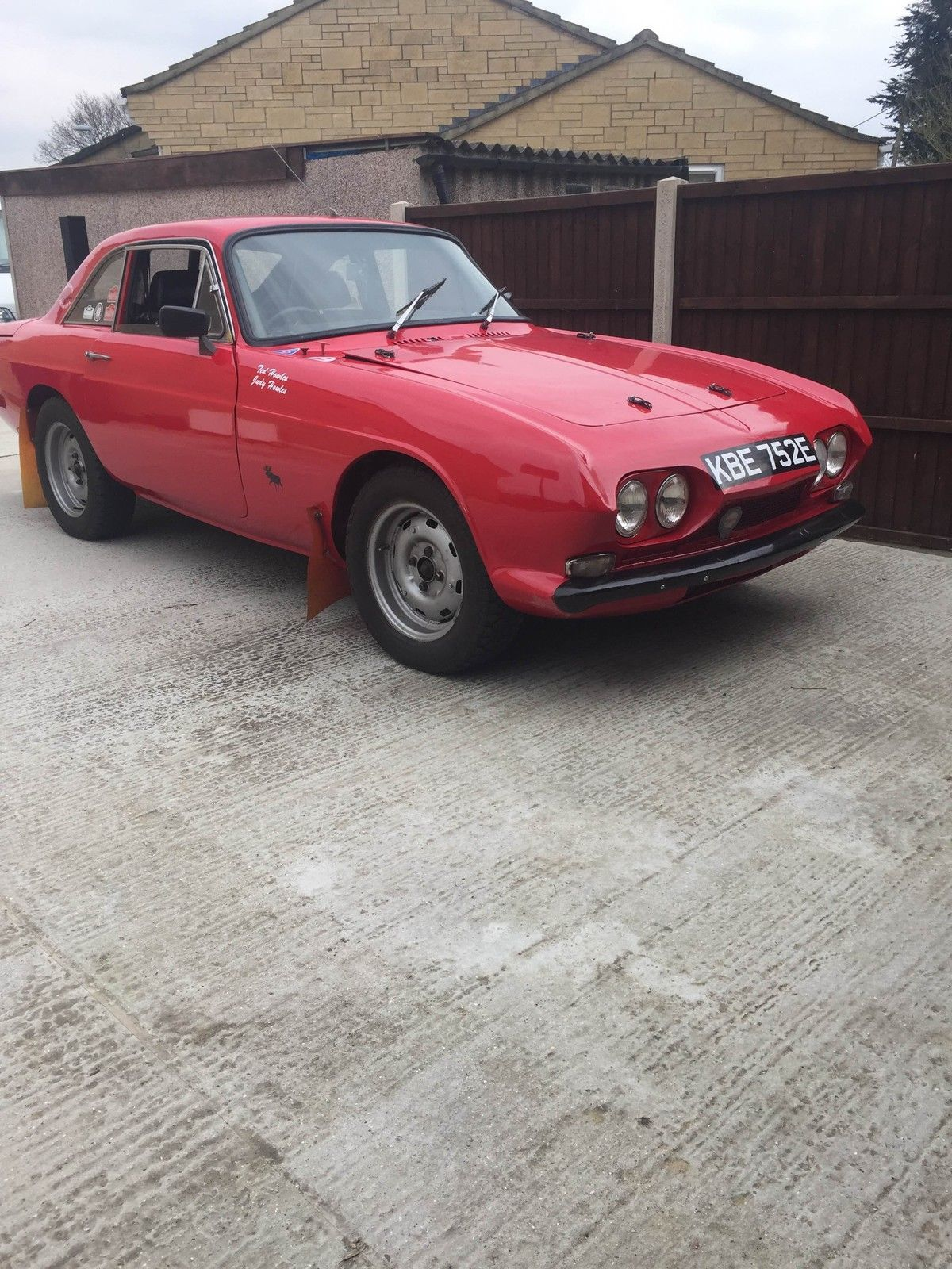 RELIANT SCIMITAR GT 1967 HISTORIC FIA RALLY CAR in Cars, Motorcycles ...