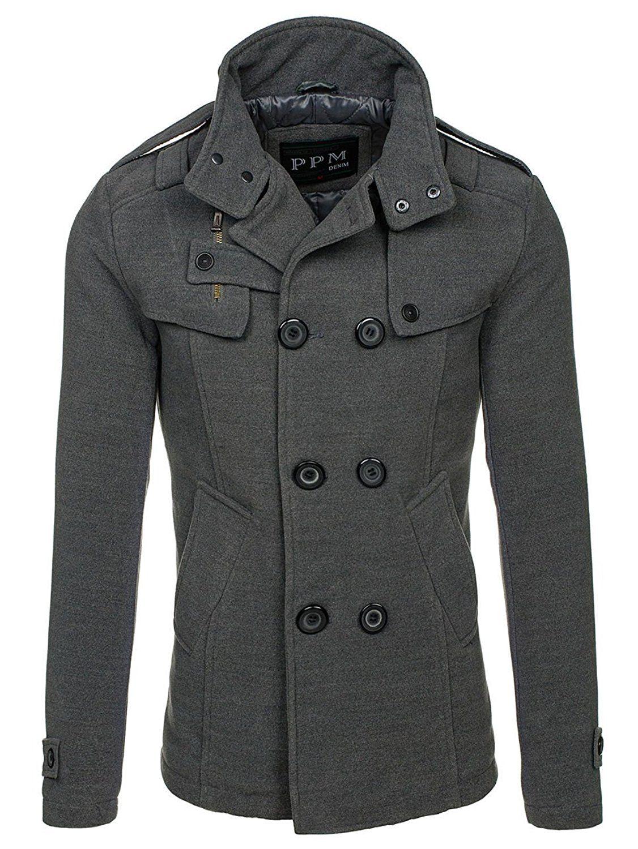 Bolf Herren Mantel Mit Modische Steppeinsatze Ppm 8857 M Grau 4d4 Amazon De Bekleidung Herren Mantel Manner Outfit Herren Outfit