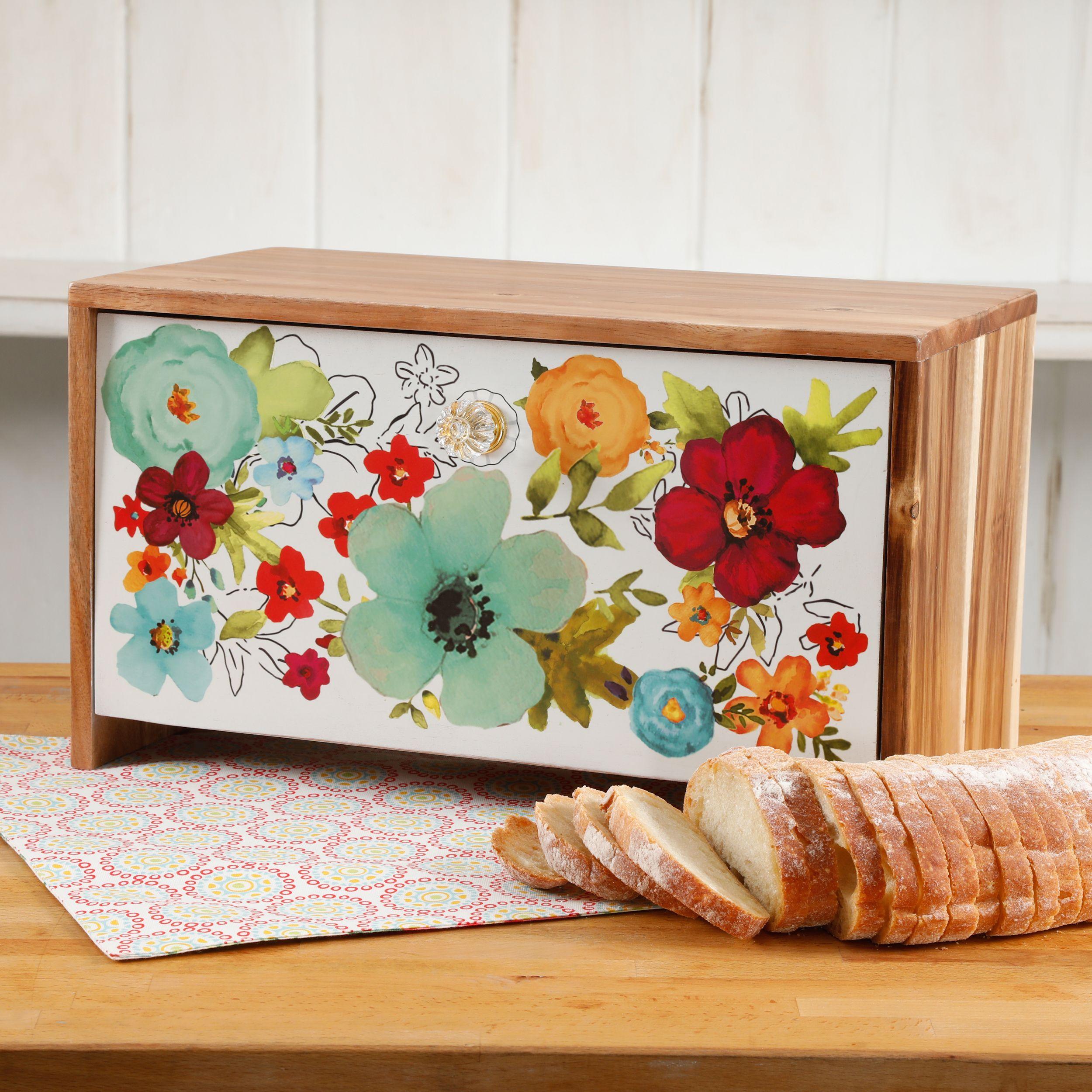 Pioneer Woman Bread Box. https://www.walmart.com/ip/The-Pioneer ...
