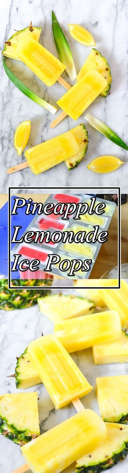 Pineapple Lemonade Ice Pops #pineapplelemonade Refreshing and delicious Pineapple Lemonade Ice Pops! Make them recent and wholesome proper at house for dessert.pineapple lemonade popsiclesWhenever I say let's make ice pops, my infant JUMPS for joy! She runs to the kitchen and we seem to be to see what delicious and recent fruit we should puree correct into a delicious ice pop. This is by means of means of far the greatest ice pop mold we've discovered and it appears to be like simply identic #pineapplelemonade