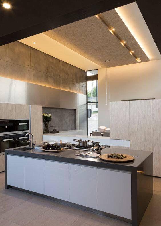 Pin By Rania Al Mazrouee On Esta Kitchen Interior Design Kitchen Kitchen Interior Contemporary Kitchen