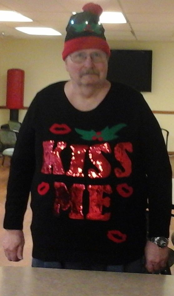 Rick VanLue won the $25 gift card at the Ugly Sweater Contest! His ...