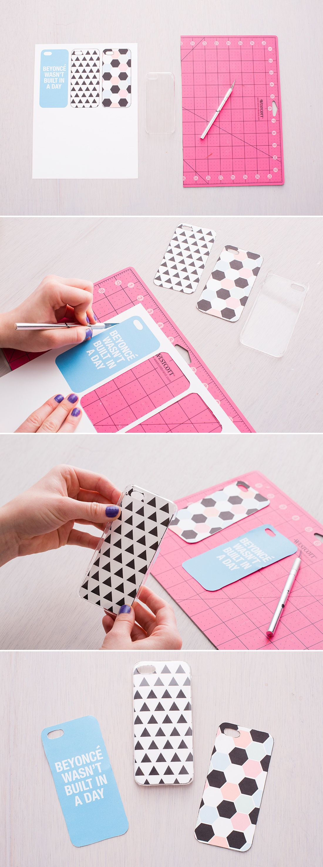 Diy Handyhülle Diy A New Iphone Case With These Free Printables Crafts