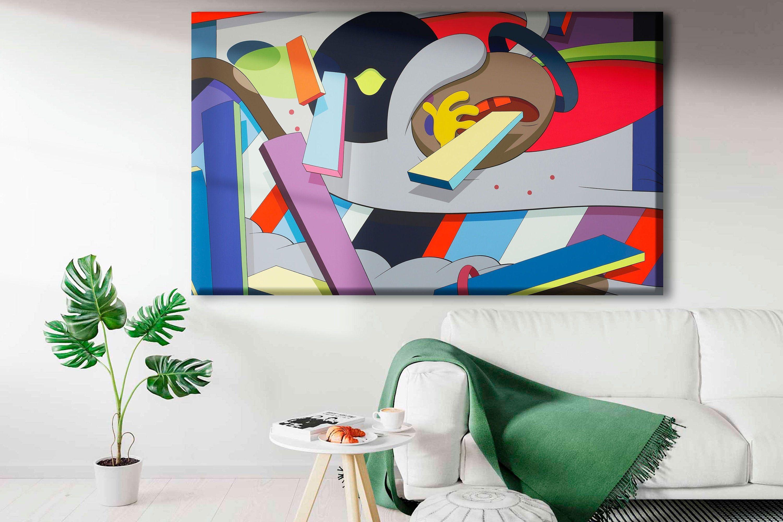 Colorful Wall Art Canvas Modern Wall Art Abstract Wall Decor Wall Art Minimalist V 2020 G