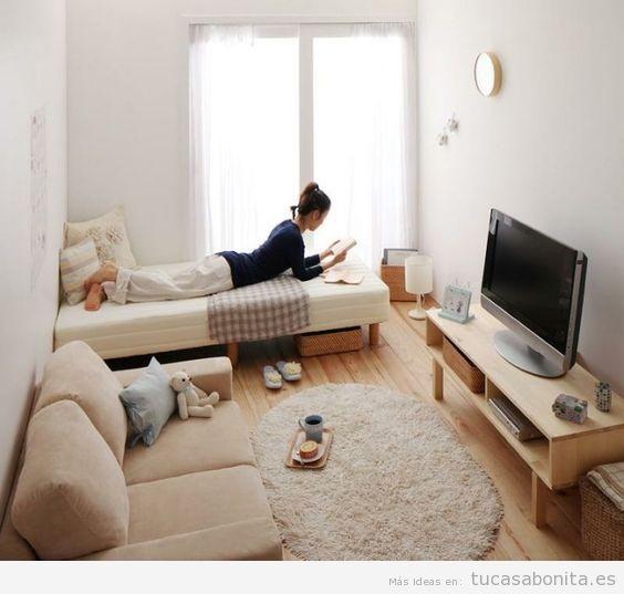 Cómo decorar un piso pequeño sin paredes o loft 4 | casa | Pinterest ...