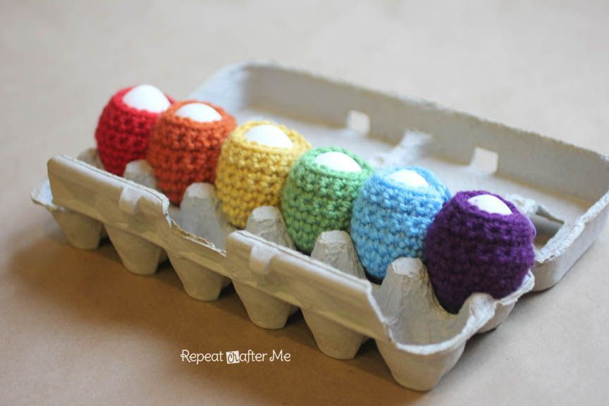 Repeat Crafter Me: Crochet Egg Cozy Pattern | Knit Crochet embroider ...