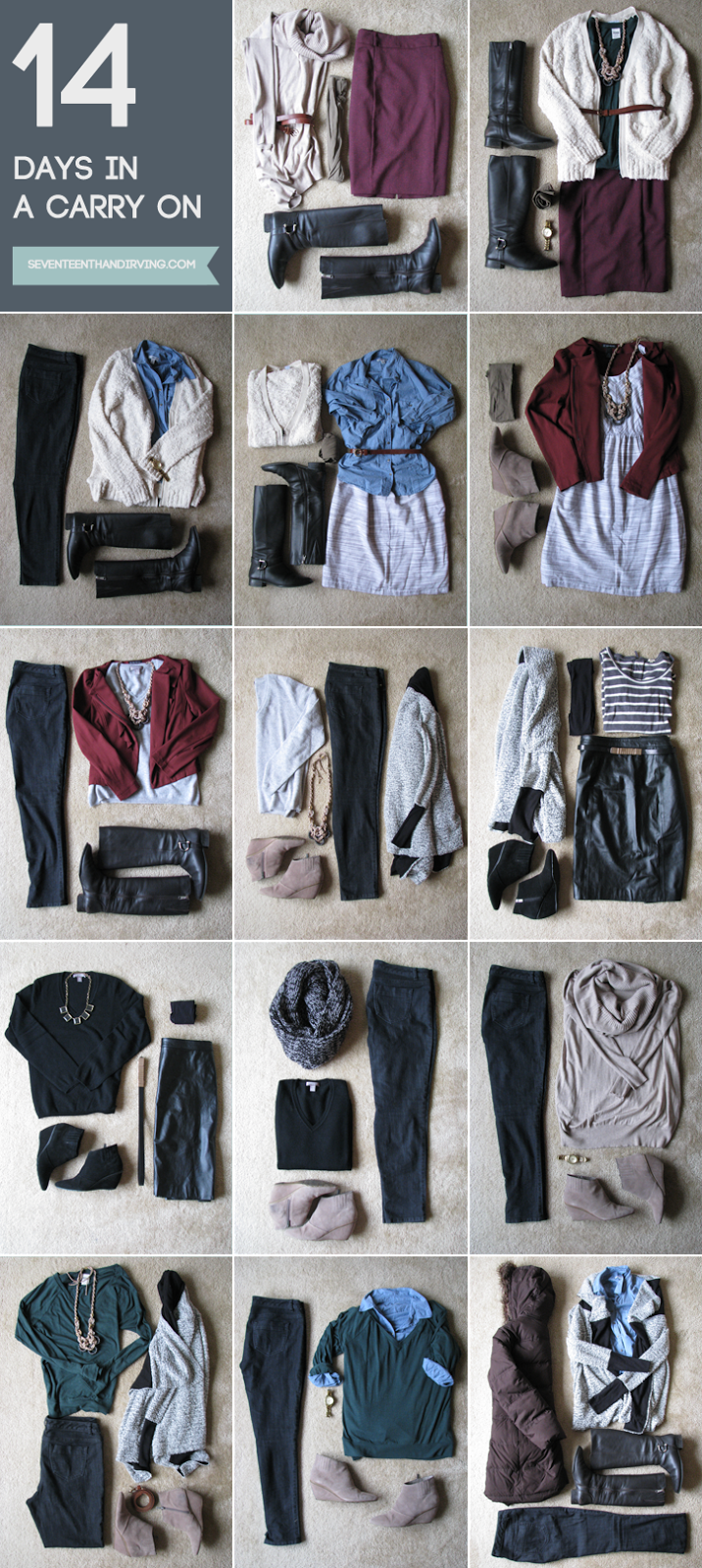 how to make outfits from your closet